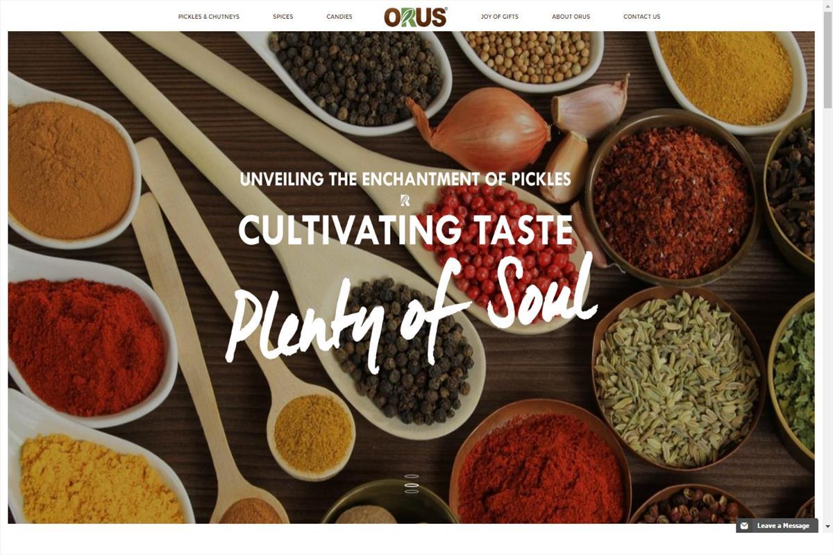 Orus Foods